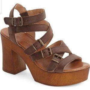 Musse & Cloud Malena Sandals Size 8